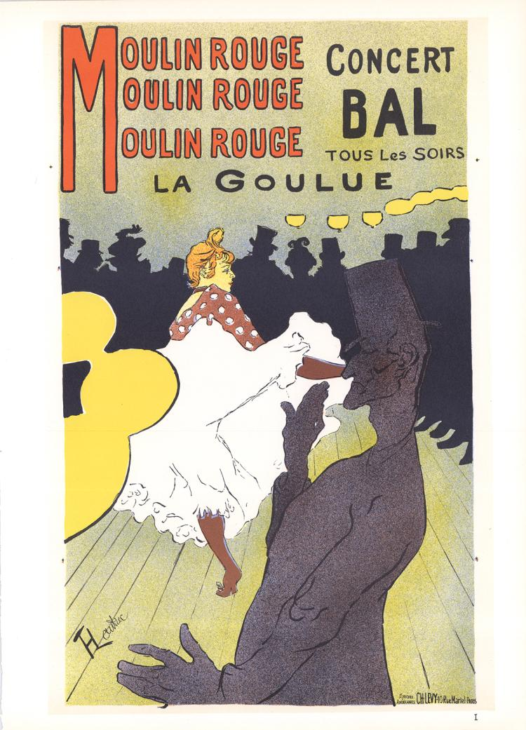 Henri de Toulouse-Lautrec - Moulin Rouge La Goulue - 1966