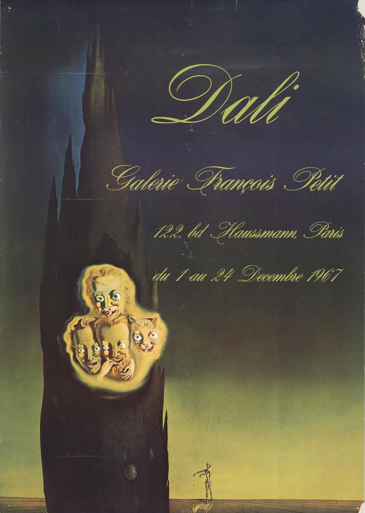 Salvador Dali - Galerie Francois Petit - 1967