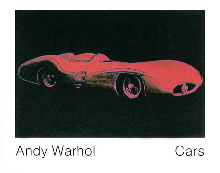 Andy Warhol - Formula 1 Car (1954) - 1989