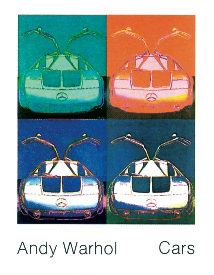 Andy Warhol - Mercedes Benz C111 (1970) - 1989