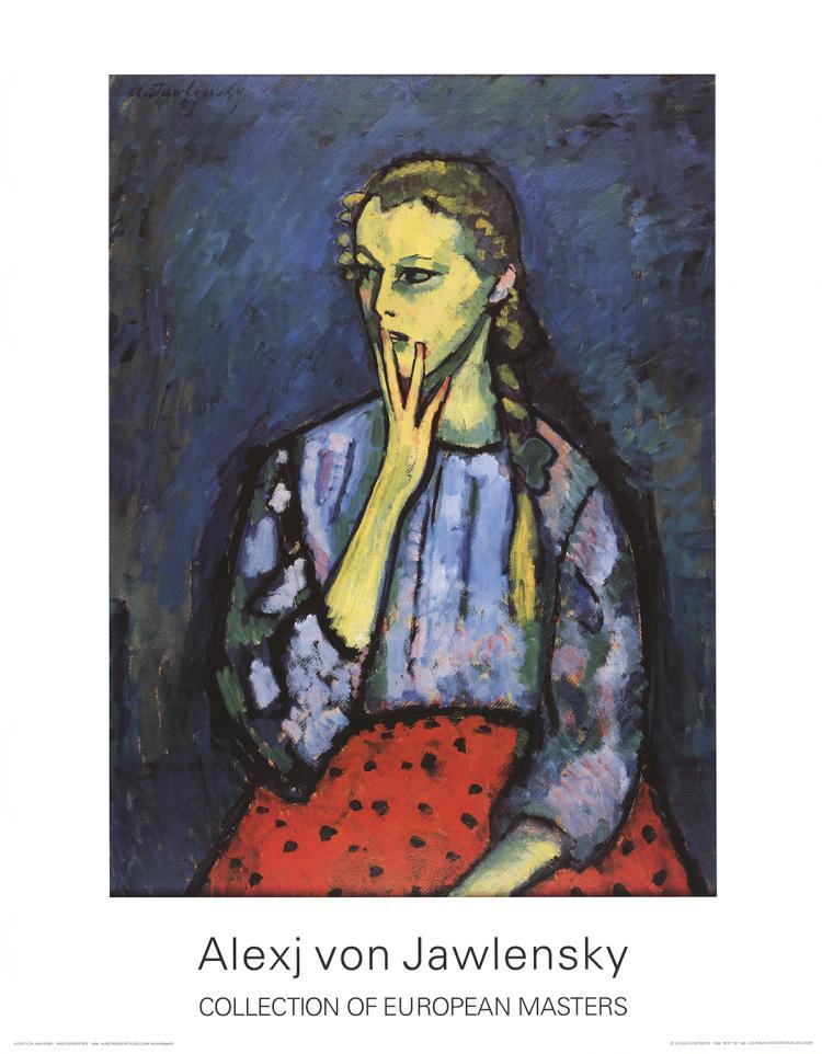 Alexej von Jawlensky - Portrait of a Girl