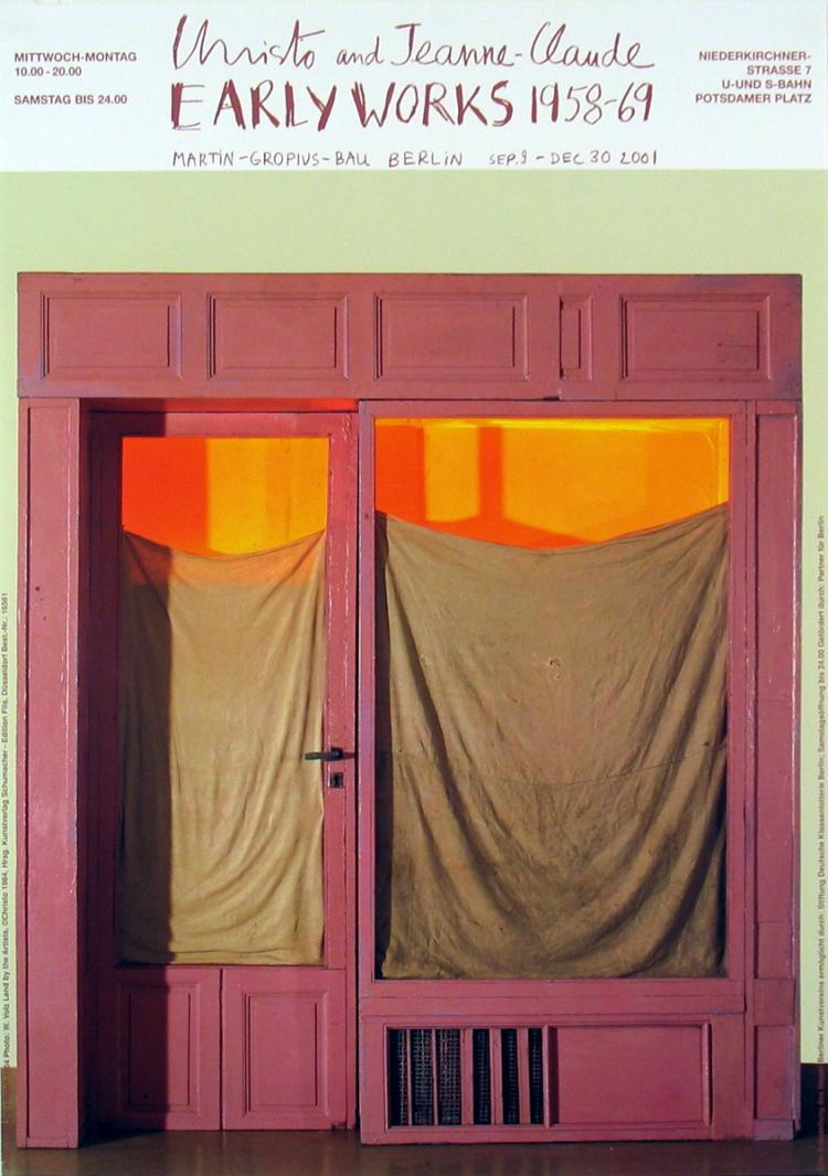 Javacheff Christo - Purple Store Front (1964)