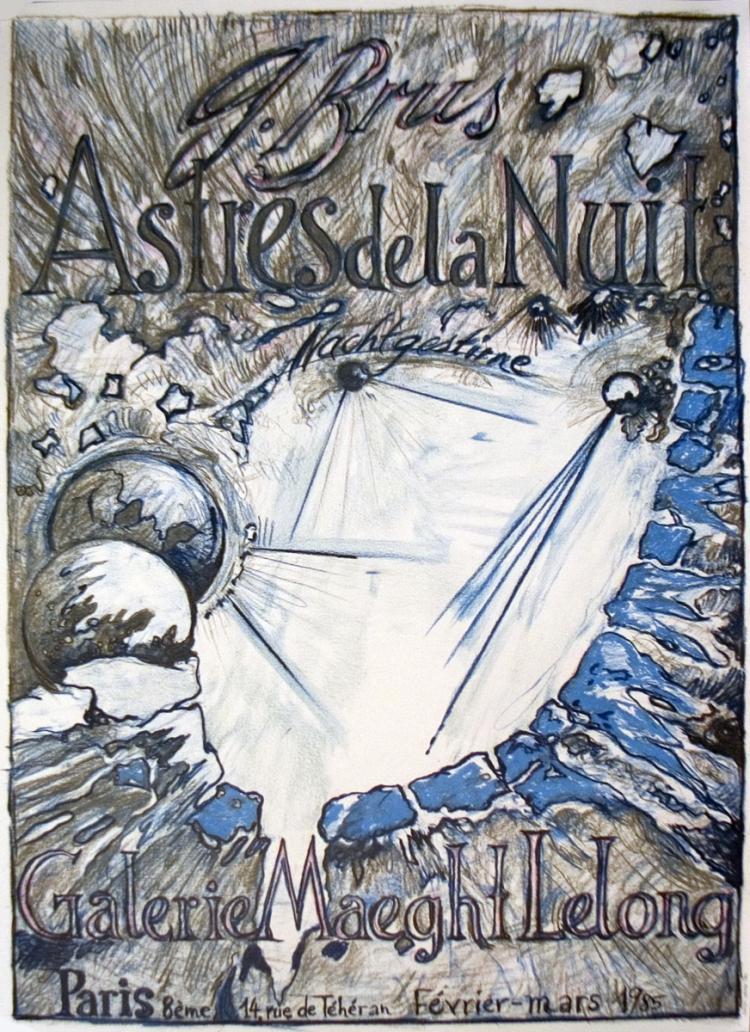 G Brus - Astres de la nuit - 1972