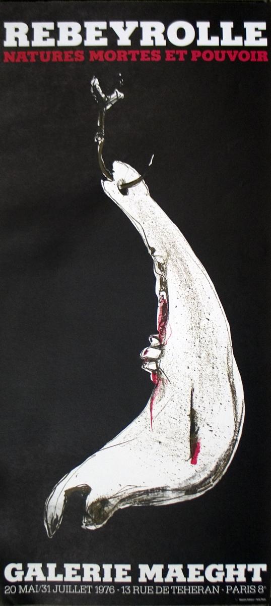 Paul Rebeyrolle - Galerie Maeght - 1976