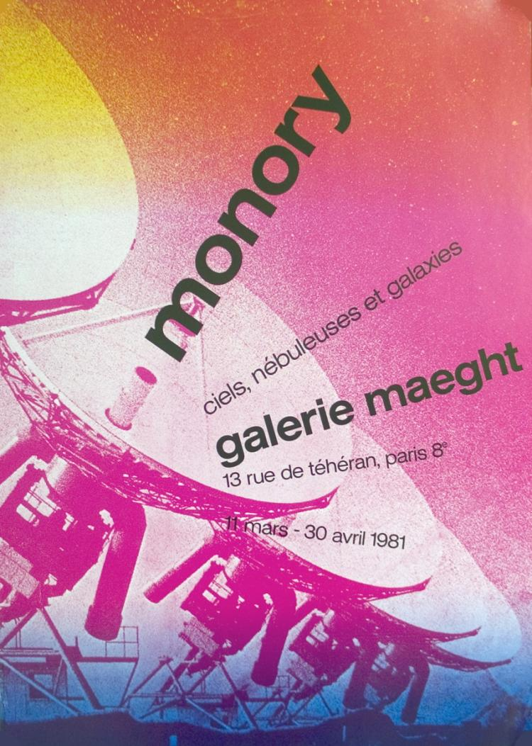 Pierre Monory - Galerie Maeght - 1981