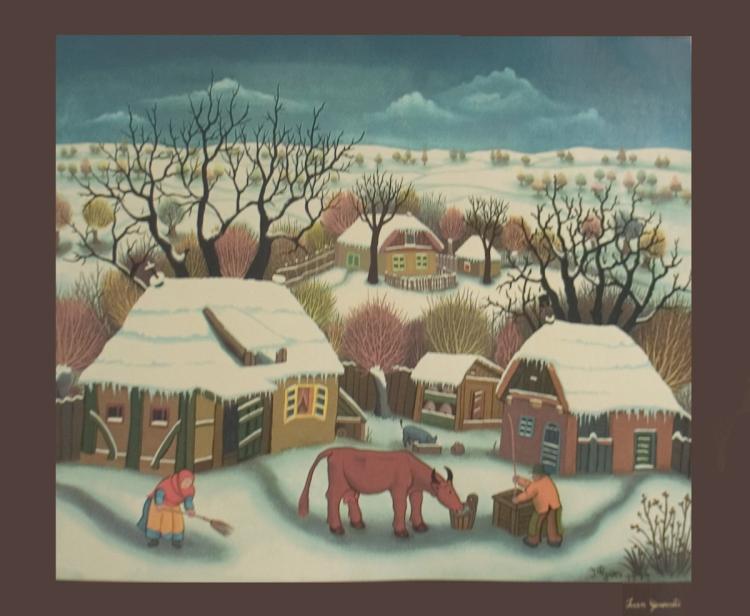 Winter Scene - 1970