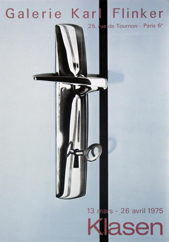 Peter Klasen - Galerie Karl Flinker - 1975