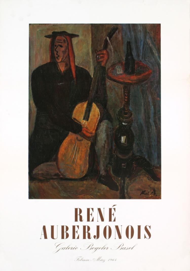 Rene Auberjonois - Galerie Beyeler Basel - 1969