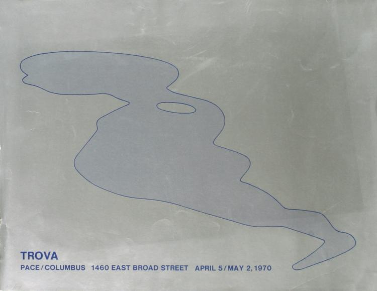 Ernest Trova - Pace Columbus - 1970