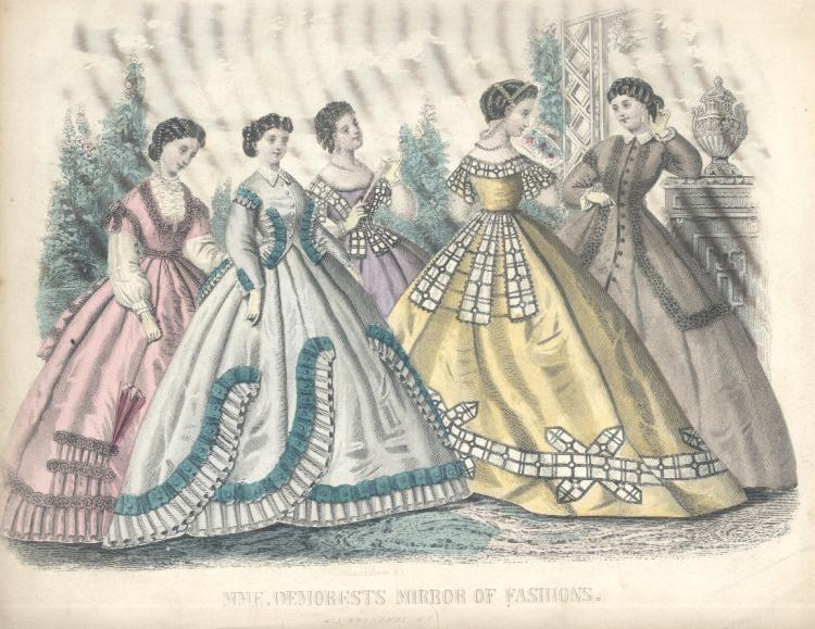MME. Demorests Mirror of Fashions - 1895