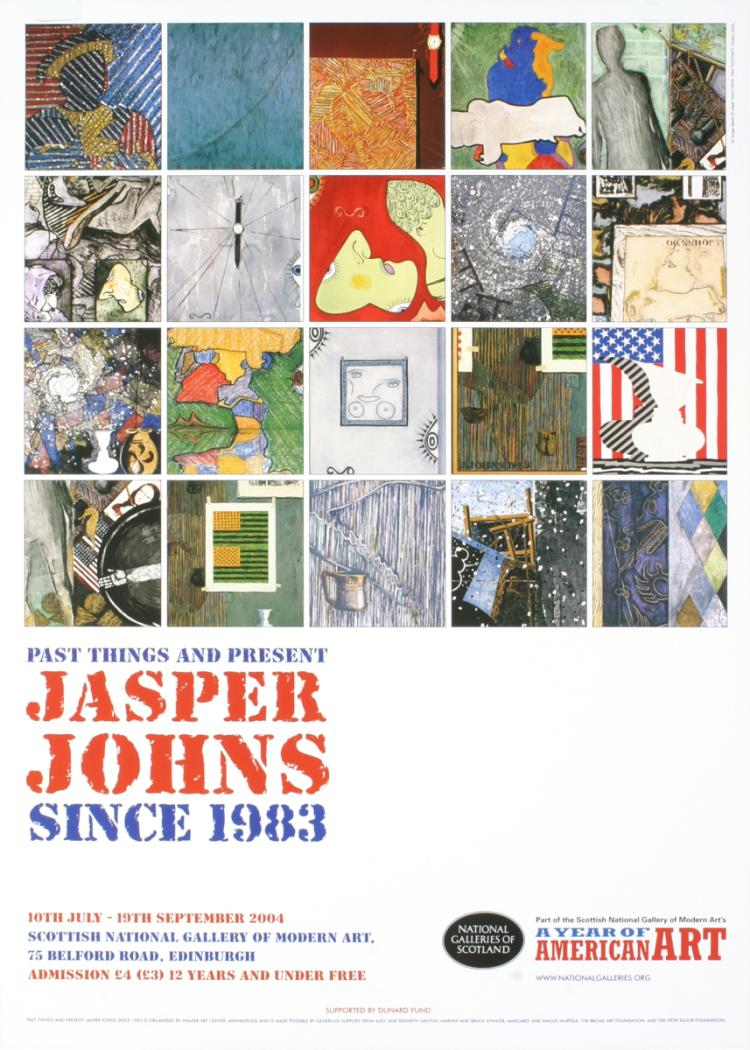 Jasper Johns - Past Things and Present - 2004
