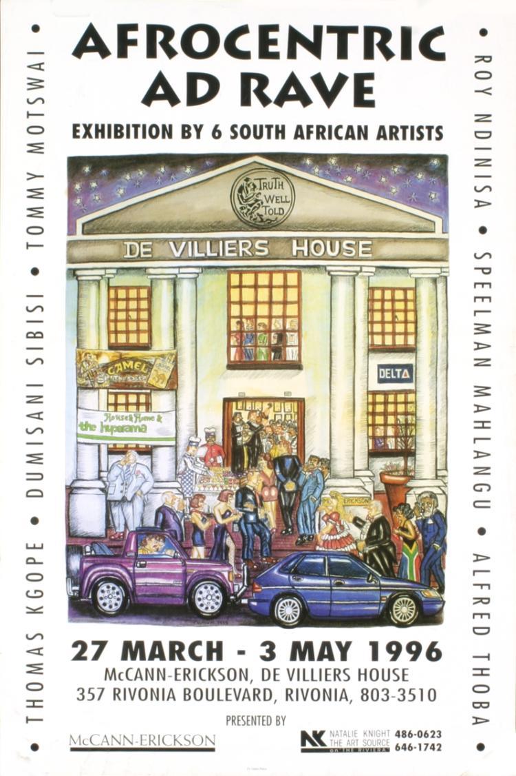 Tommy Motswai - De Villiers House - 1996