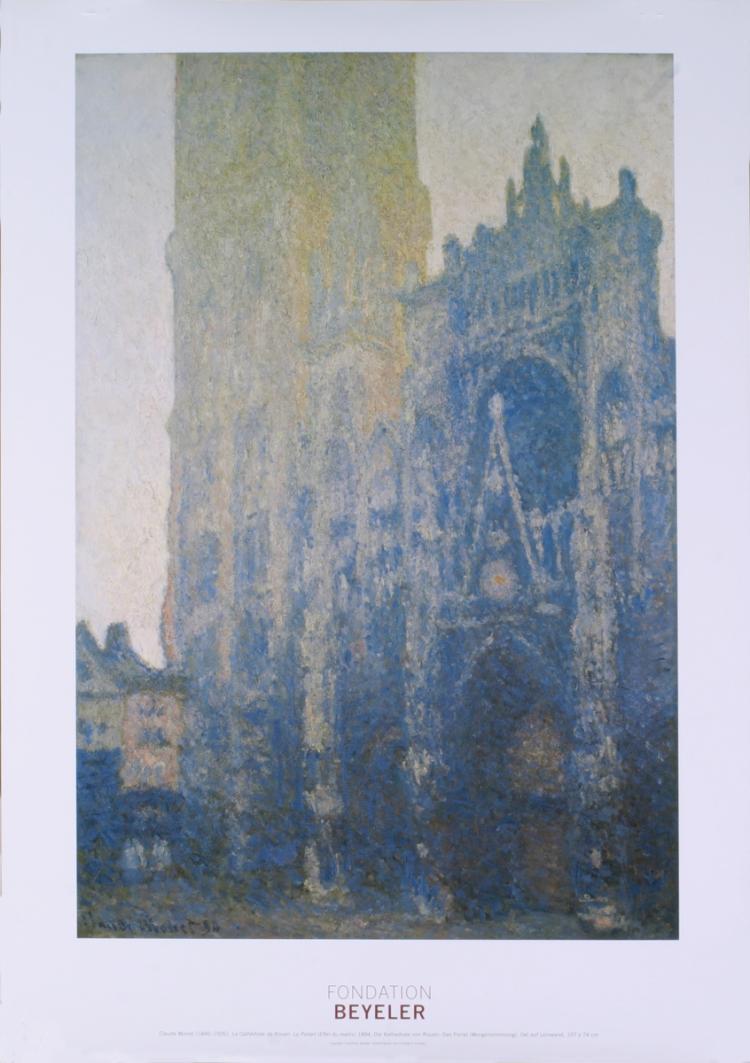 Claude Monet - La Cathedrale de Rouen