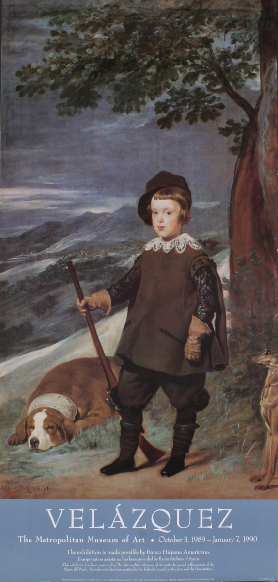 Diego Velazquez - Prince Baltasar as a Hunter - 1989