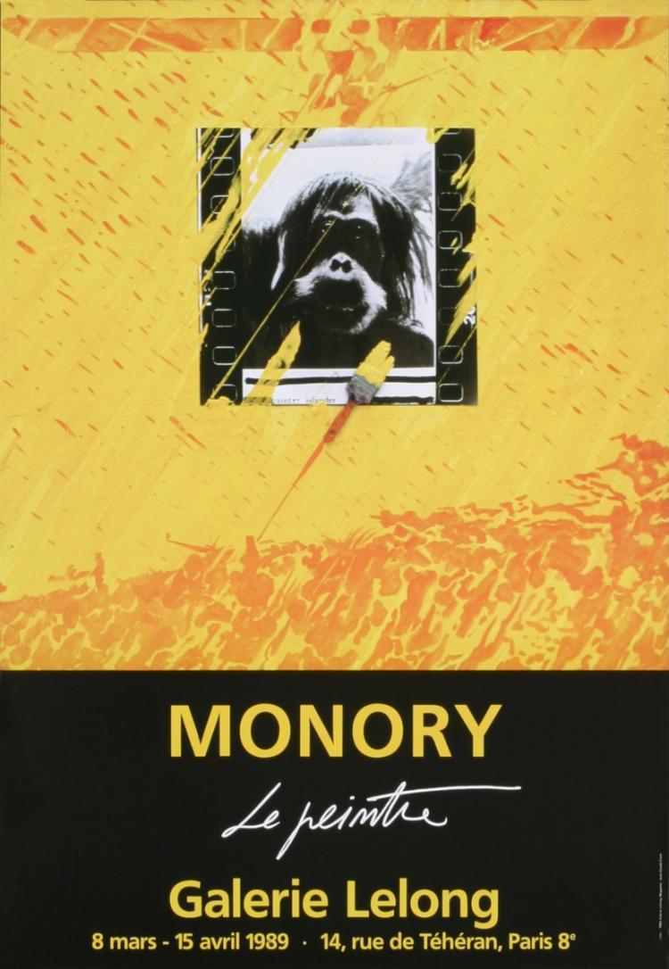 Pierre Monory - Le Peintre (the Painter)