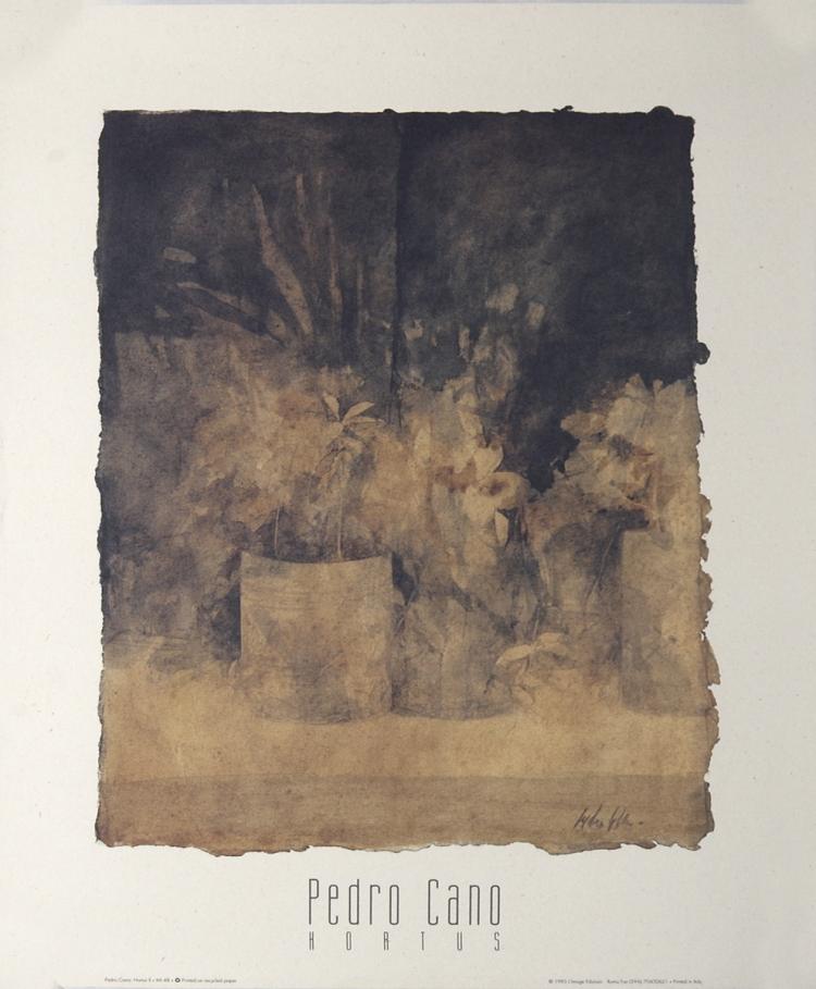 Pedro Cano - Hortus II