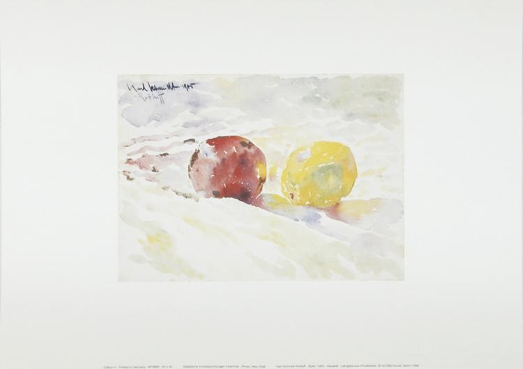 Karl Schmidt-Rottluff - Apple
