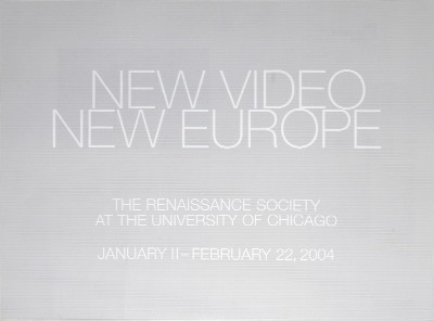New Video New Europe - 2004