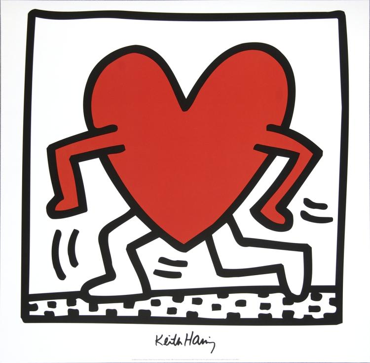Keith Haring - Untitled (1984) - 1988