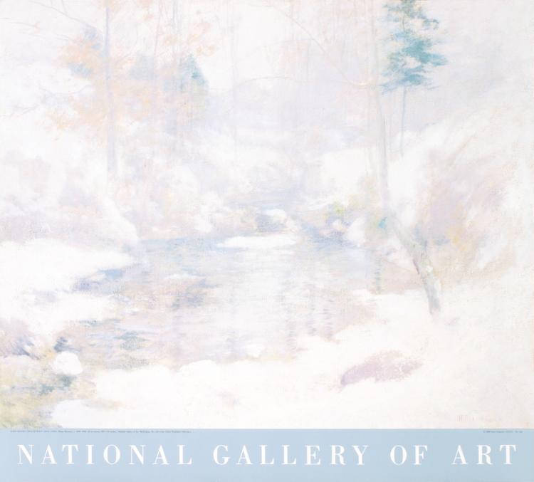 John Henry Twachtman - Winter Harmony