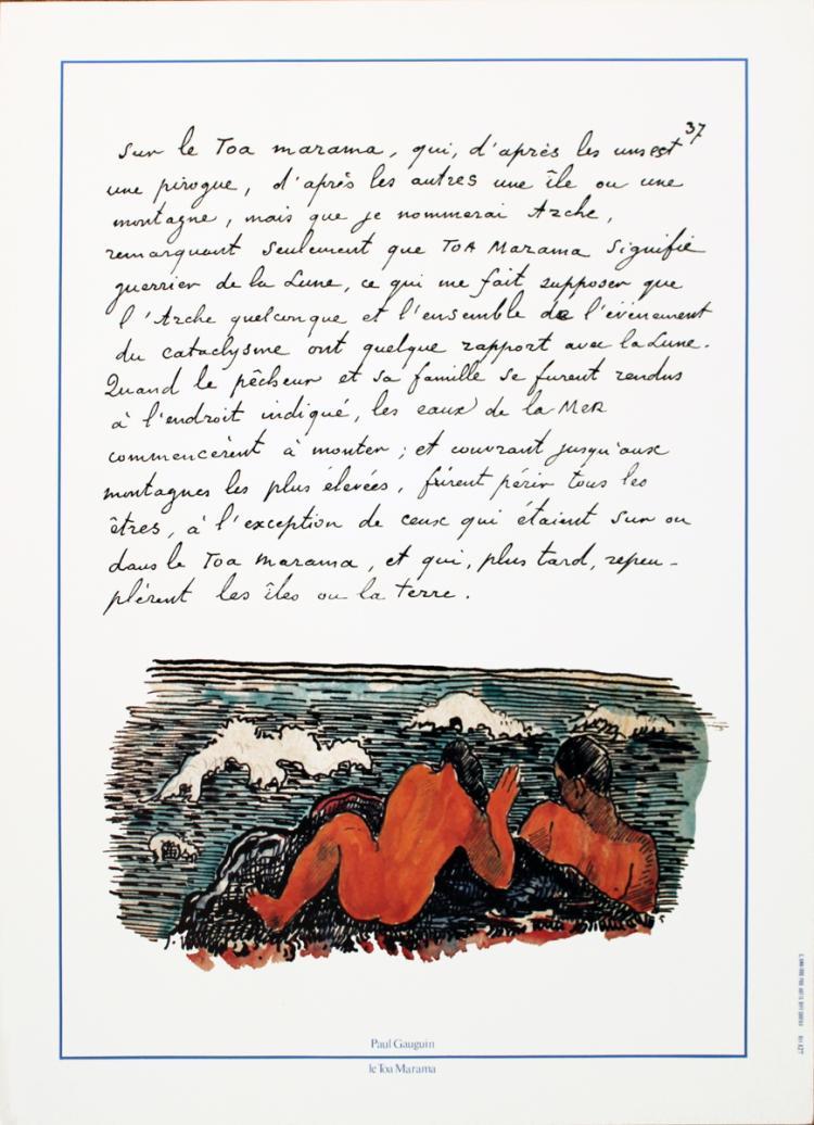 Paul Gauguin - Le Toa Marama