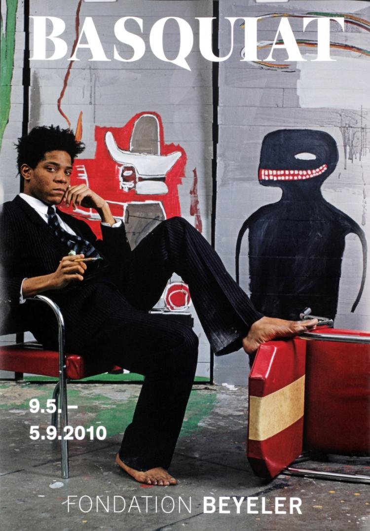 Jean-Michel Basquiat - Studio Portrait - 2010