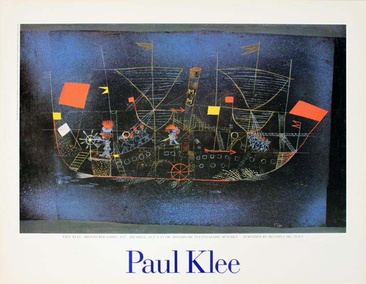 Paul Klee - Adventurer Ship - 1988