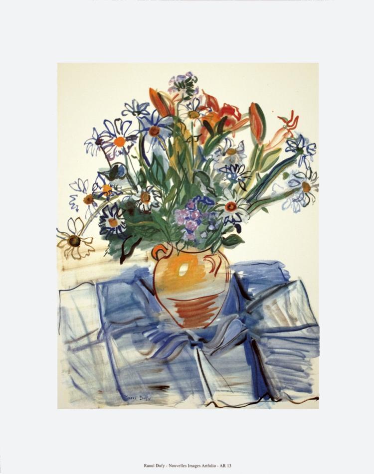 Raoul Dufy - Bouquet - 1997