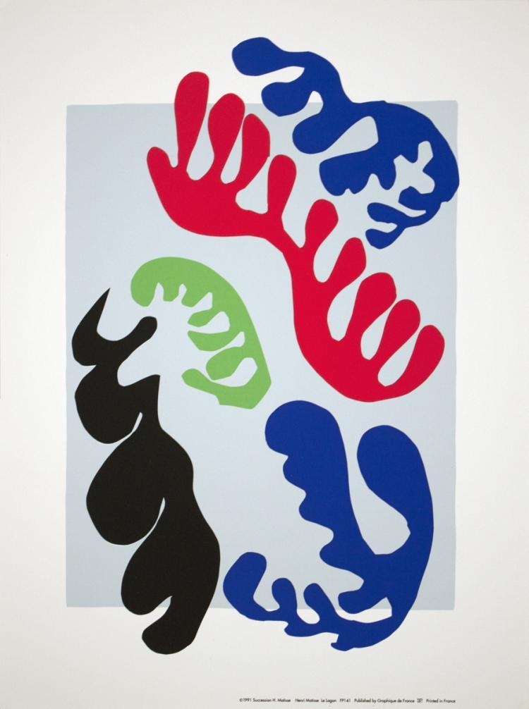 Henri Matisse - Le Lagon - 1991