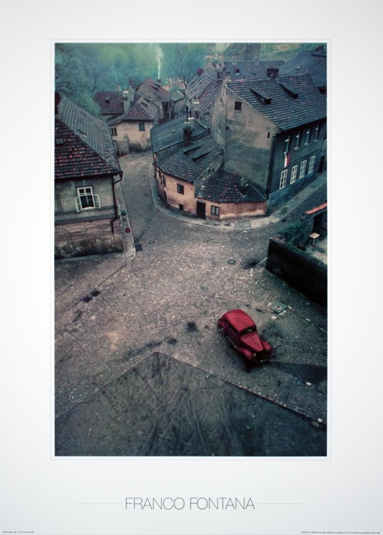 Lucio Fontana - Praga (1967)