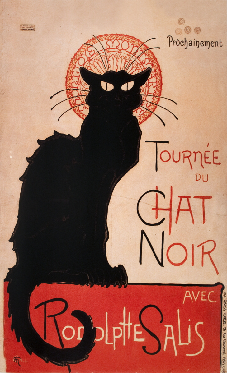 Theophile Alexandre Steinlen - Tournee du Chat Noir