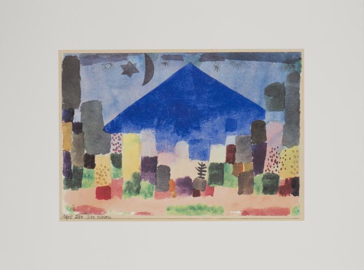 Paul Klee - Der Niesen