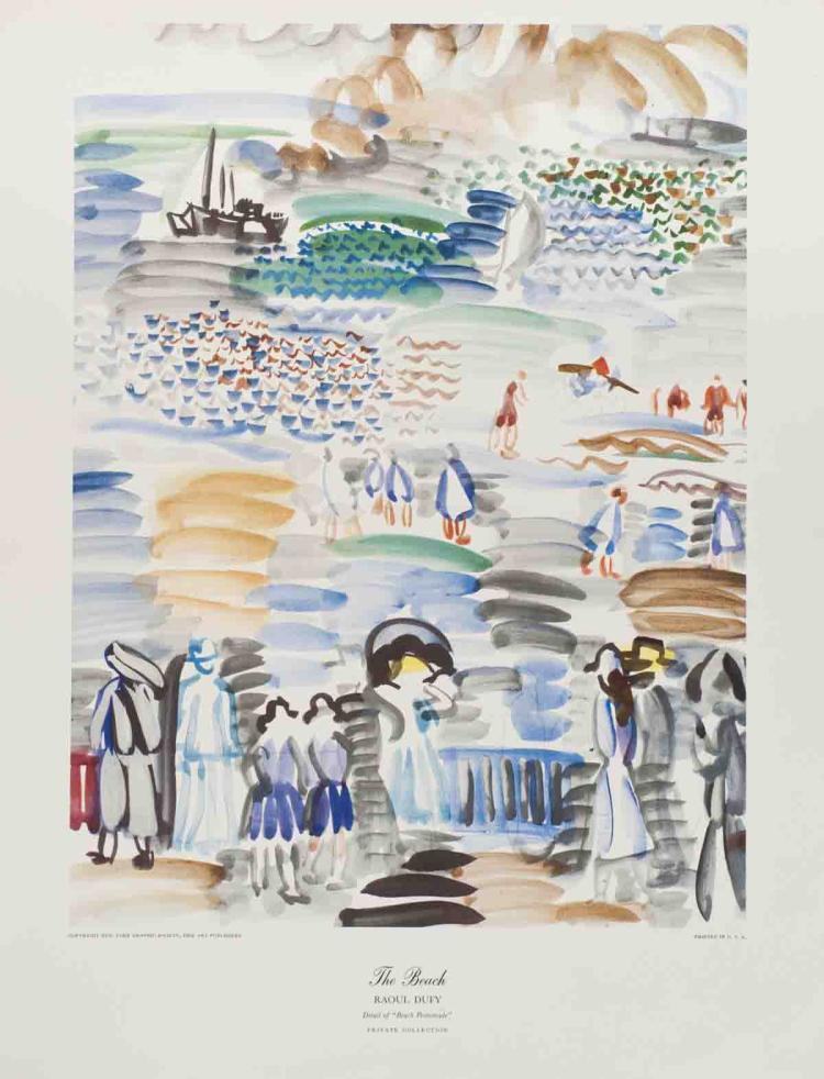 Raoul Dufy - The Beach