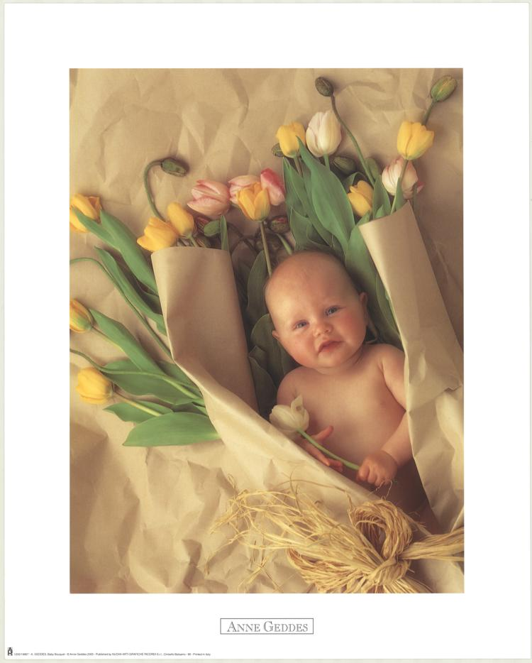 Anne Geddes - Baby Bouquet - 2000