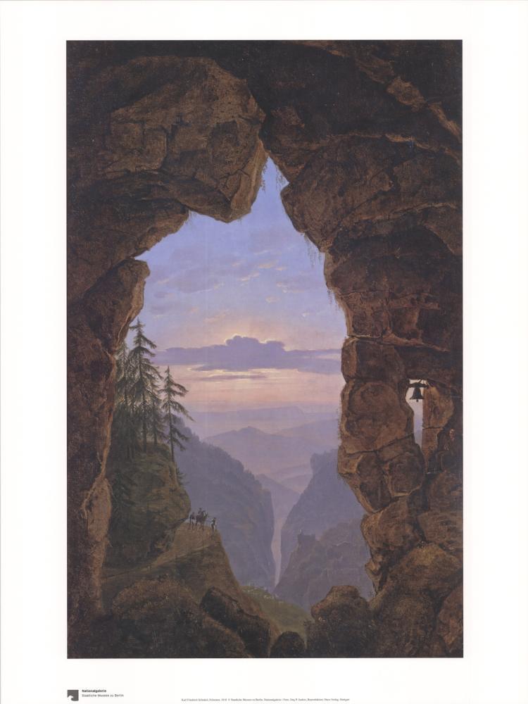 Karl Friedrich Schinkel - Felsentor