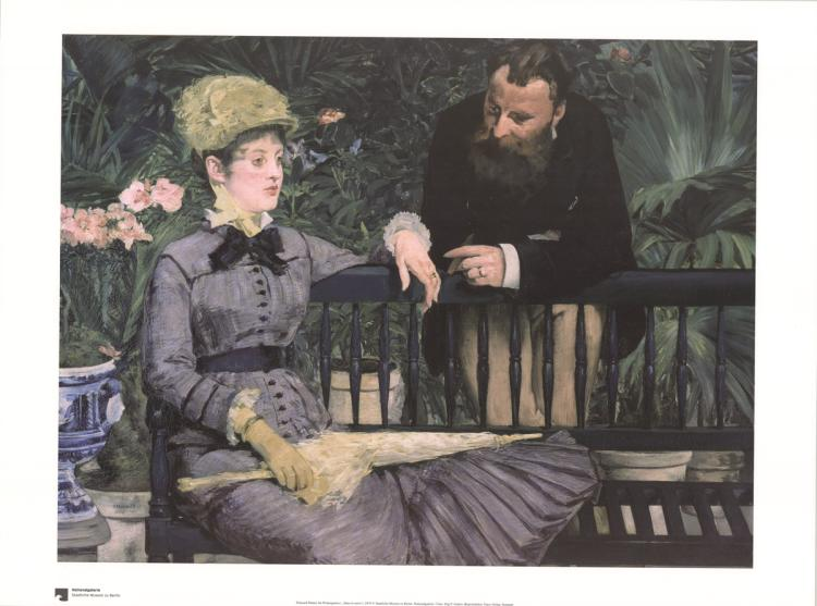 Edouard Manet - Im Wintergarten