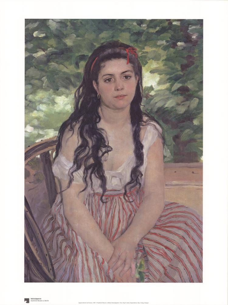 Pierre-Auguste Renoir - Im Sommer