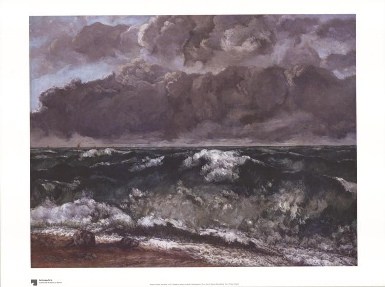 Gustave Courbet - Die Welle