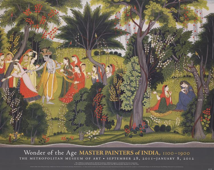 Purkhu - Krishna Flirting with the Gopis