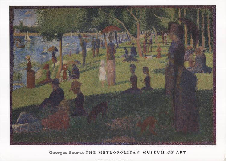 Georges Seurat - A Sunday on Le Grande Jatte - 2012