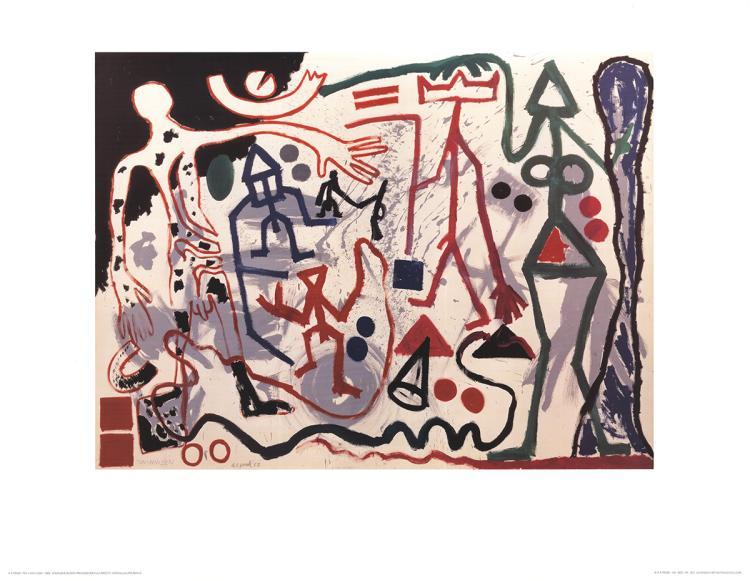 A.R. Penck - Ten x den x zen