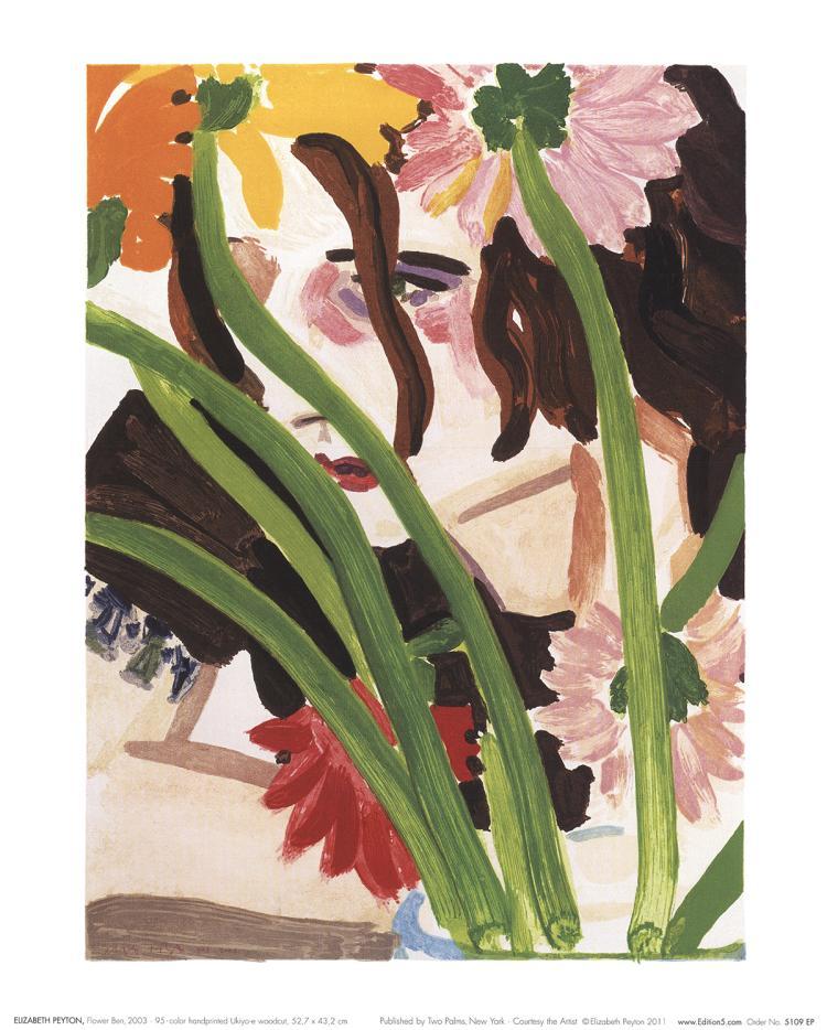 Elizabeth Peyton - Flower Ben - 2011