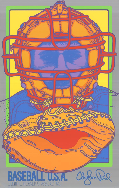 Clayton Pond - Baseball U.S.A. - 1980