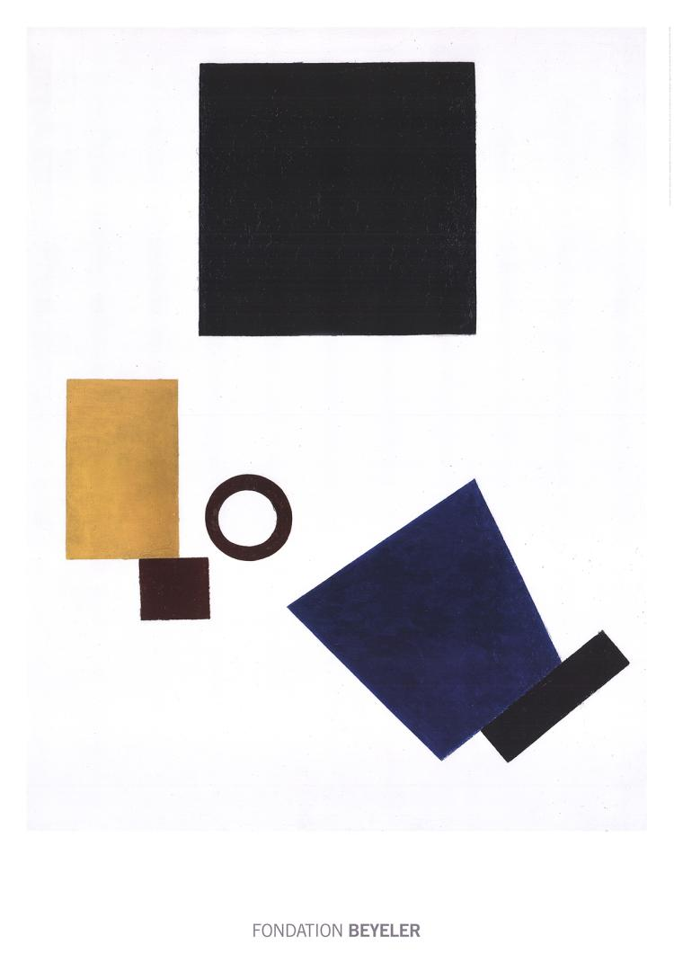 Kazimir Malevich - Suprematism: Self Portrait in two dimensions - 2016