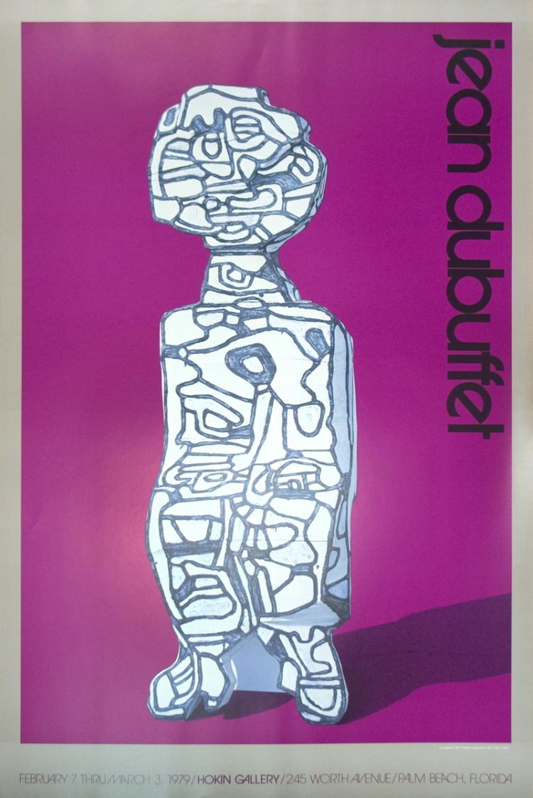 Jean Dubuffet - Le Siegeant - 1979
