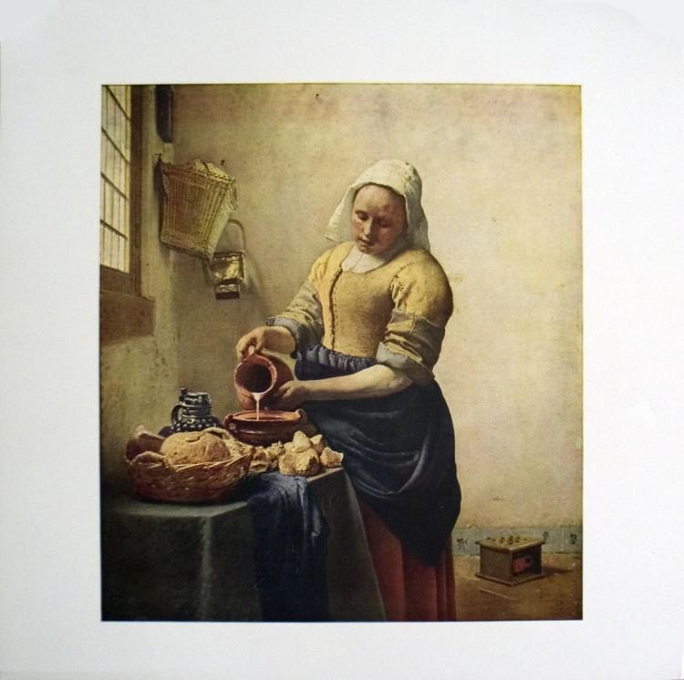 van de Meer - Woman pouring milk