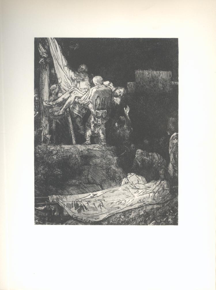 van Rijn Rembrandt - Deposition By Torchlight - 1968