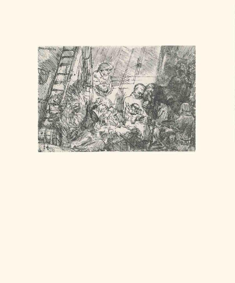 van Rijn Rembrandt - Circumcision ( In a Stable) - 1968