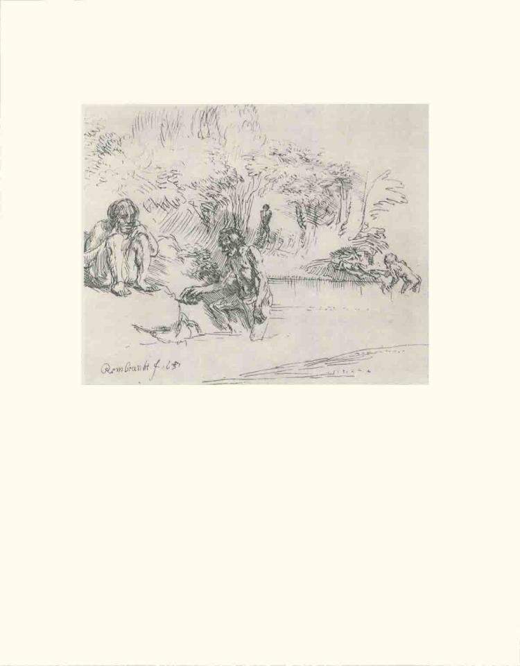 van Rijn Rembrandt - Men Bathing - 1968