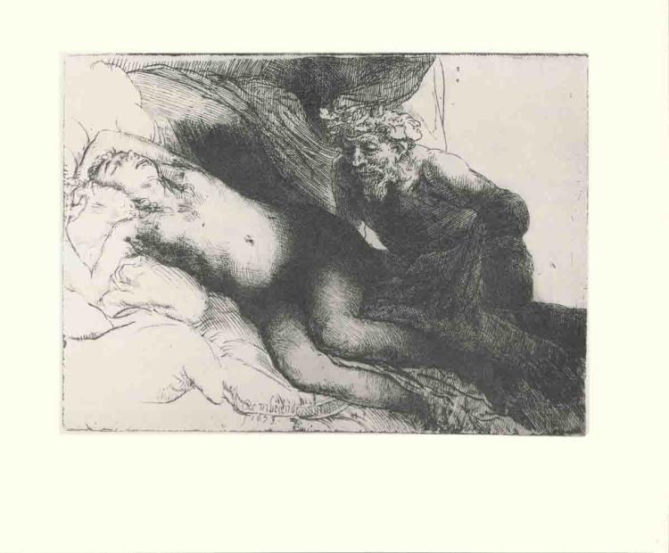 van Rijn Rembrandt - Jupiter and Antiope - 1968